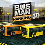 bus-man-parking-3d
